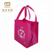 custom design printed non woven totebag